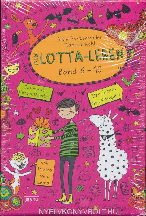 Alice Pantermüller: Mein Lotta-Leben: Sonderausgabe, Bd. 6-10 im Schuber