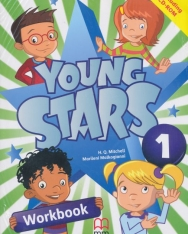 Young Stars Level 1 Workbook with CD-ROM