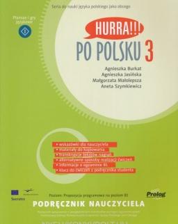 Hurra!!! Po Polsku 3 - Podrecznik Nauczyciela