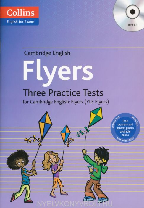 Cambridge English Flyers Three Practice Tests with Answer Key & Mp3 CD