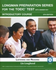 Longman Preparation Series for the TOEIC Test Introductory Course Listening and Reading with Answer Key, MP3 CD+ online access code