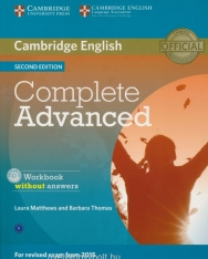 Cambridge english Complete Advanced Workbook without Answers with Audio CD 2nd edition 2015