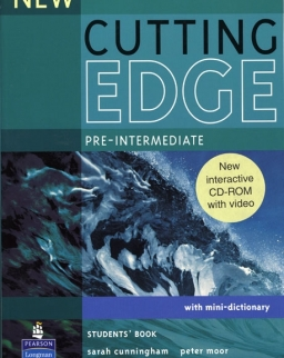New Cutting Edge Pre-Intermediate Student's Book with CD-ROM