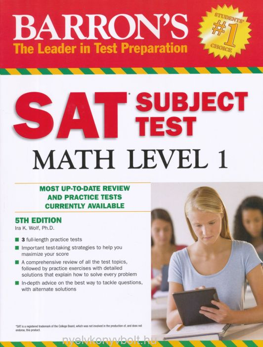 Barron's SAT Subject Test Math Level 1 5th Edition