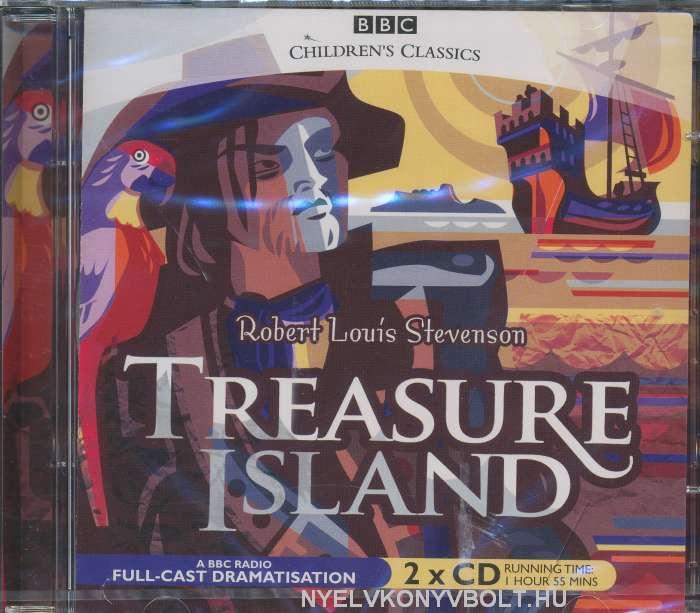 Robert Louis Stevenson: Treasure Island - Audio Book CD