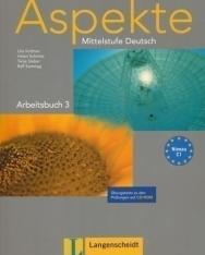 Aspekte 3 Arbeitsbuch mit CD-ROM - Mittelstufe Deutsch Niveau C1