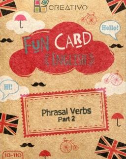 Fun Card English: Phrasal Verbs Part 2