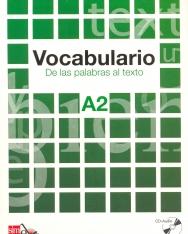Vocabulario De las palabras al texto A2 + CD Audio