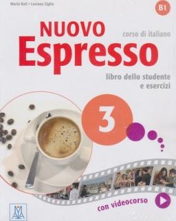 Nuovo Espresso 3 - corso di Italiano Libro dello studente e esercizi con DVD-ROM