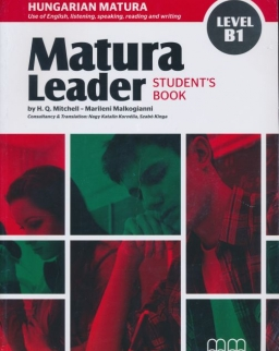 Matura Leader Level B1 Student's Book with Audio CD