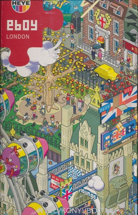 Heye Puzzle 1500 - London (Puzzle + Poster)