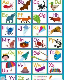 Children's Poster - Alphabet