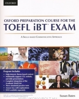 Oxford Preparation Course for TOEFL iBT Exam with Audio CDs & Online Access