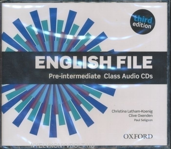 English File - 3rd Edition - Pre-Intermediate Class CDs
