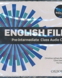 English File - 3rd Edition - Pre-Intermediate Class CDs