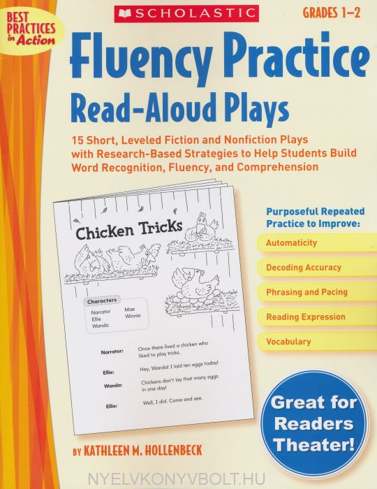 Fluency Practice Read-Aloud Plays, Grades 1-2 (Best Practices in Action)