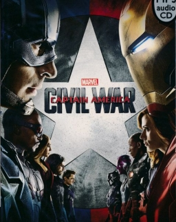 Marvel's Captain America: Civil War with MP3 CD - Pearson English Readers