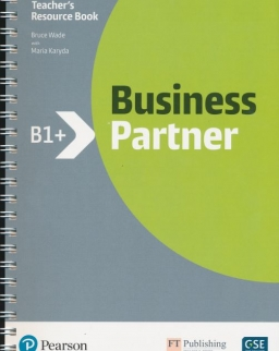 Business Partner Level B1+ Teacher's Resource Book with My EnglishLab Access Code