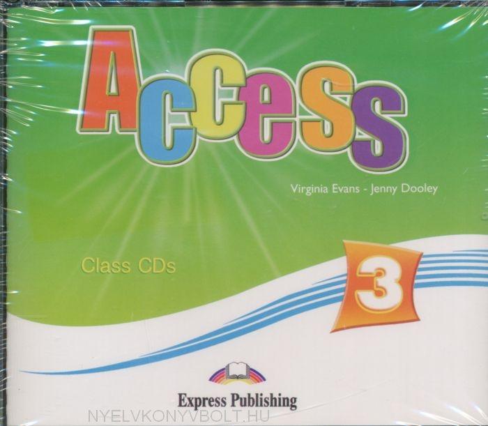 Access 3 Class Audio CDs (4)