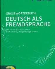 Pons Grossworterbuch Deutsch Als Fremdsprache