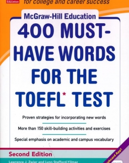 400 Must-Have Words for the TOEFL - Second Edition