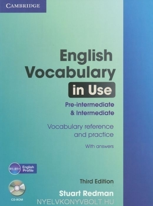 English Vocabulary in Use Pre-Intermediate and Intermediate with Answers with CD-ROM - Third Edition