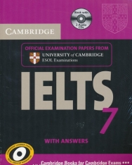 Cambridge IELTS 7 Official Examination Past Papers Student's Book with Answers and 2 Audio CDs Self-Study Pack