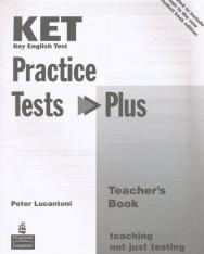 KET Practice Tests Plus Teacher's Book