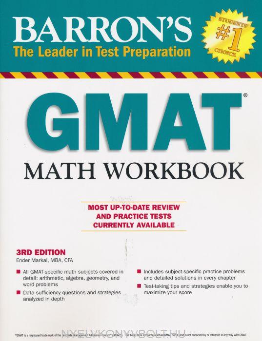 Barron's GMAT Math Workbook 3rd Edition