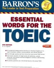 Barron's Essential Words for the Toeic with MP3 CD, 6th Edition