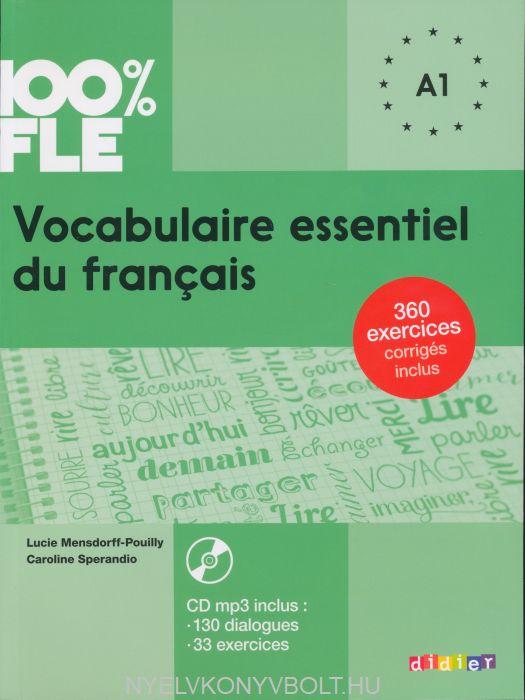 100% FLE - Vocabulaire essentiel du français niv. A1 - Livre + CD