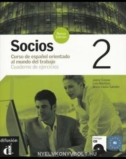 Socios 2 Cuaderno de ejercicios + Audio CD