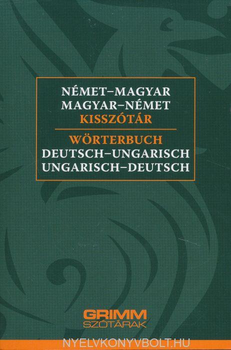 Német-Magyar, Magyar-Német Kisszótár 2018 (MX-1346)