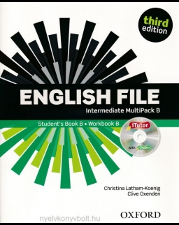 English File - 3rd Edition - Intermediate Multipack B with iTutor DVD-Rom