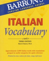 Barron's Italian Vocabulary Third Edition