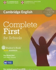 Complete First for Schools Student's Book with Answers & CD-ROM
