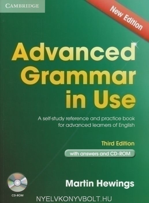 Advanced Grammar in Use with Answers & CD-ROMBritish - Third Edition