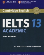 Cambridge IELTS 13 Academic Official Authentic Examination Papers Student's Book with Answers