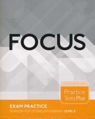 Focus Exam Practice - Pearson Test of English General Level 3.