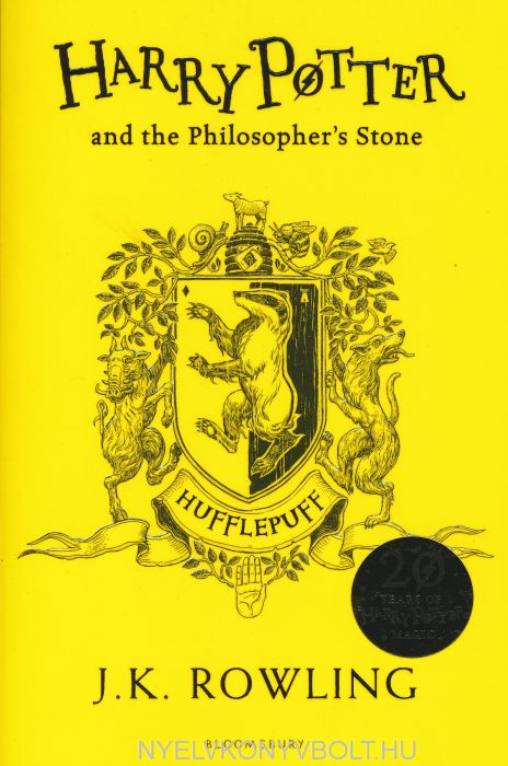 J. K. Rowling: Harry Potter and the Philosopher's Stone - Hufflepuff Edition