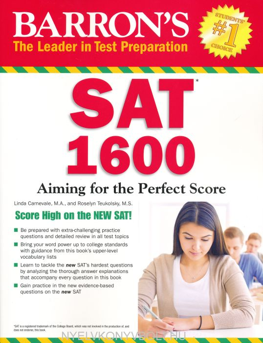 Barron's SAT 1600 (Revised for the New SAT 2016)