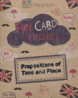 Fun Card English: Prepositions of Time and Place