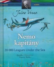 Nemó kapitány - 20000 Leages Under the Sea - angol-magyar kétnyelvű