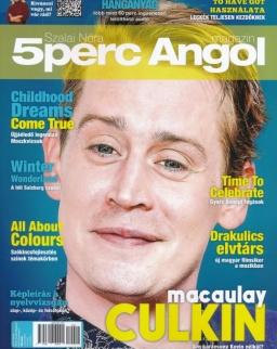 5 Perc Angol Magazin 2019 December