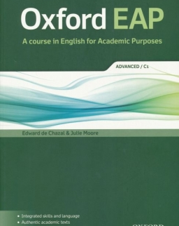 Oxford EAP - A course in English for Academic Purposes Advanced C1 Student's Book with DVD-ROM