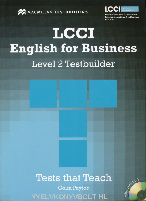 LCCI English for Business Level 2 Testbuilder with Audio CD
