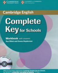 Complete Key for Schools Workbook with Answers & Audio CD
