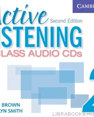 Active Listening 2 Class Audio CDs 2nd Edition