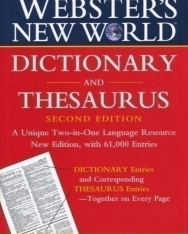 Webster's New World Dictionary & Thesaurus 2nd Edition