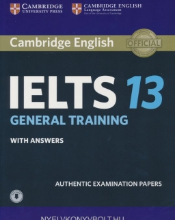 Cambridge IELTS 13 Official Authentic Examination Papers Student's Book with Answers and with Audio